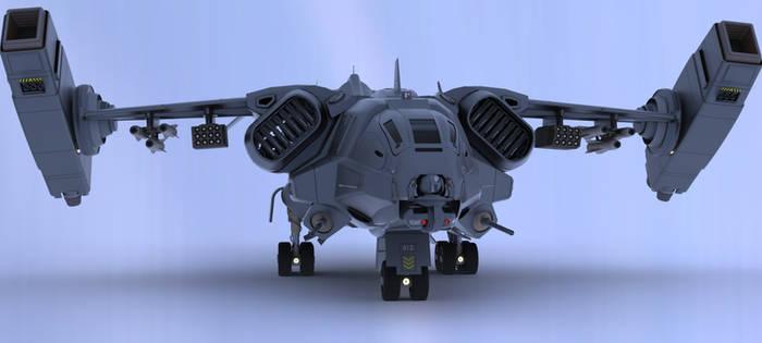 Iron Fist Dropship III