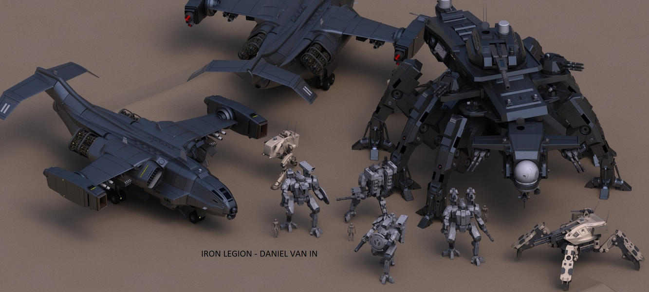 Iron Legion Strike Group by Quesocito