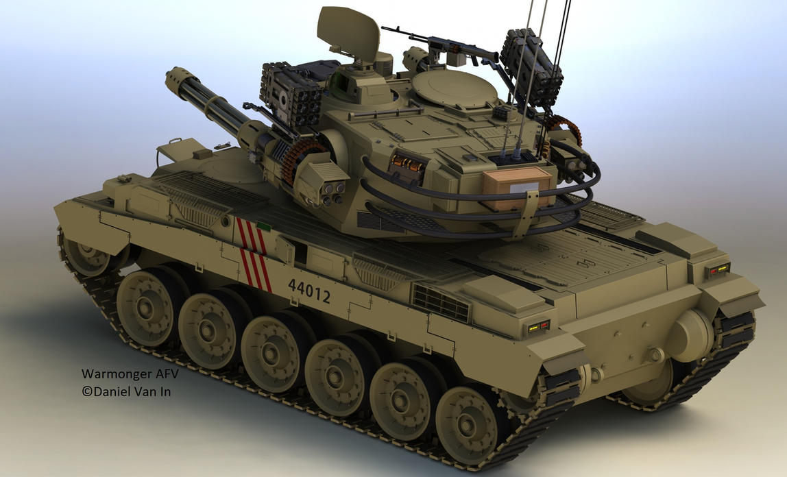 Warmonger AFV II by Quesocito