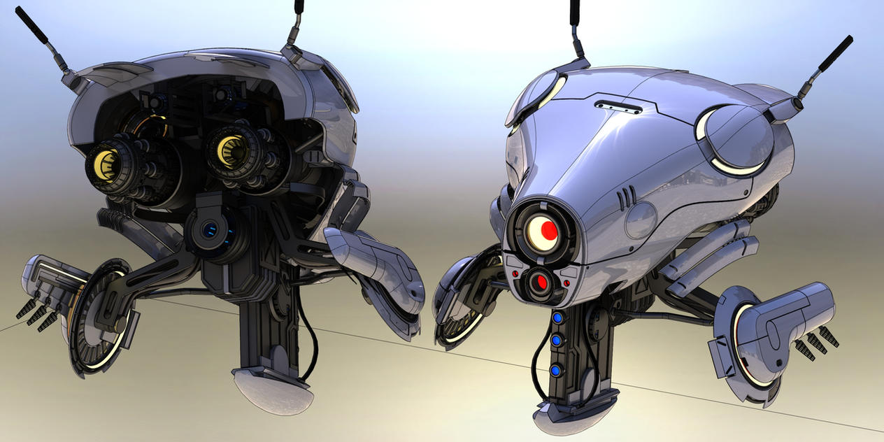 Scout Droid by Quesocito