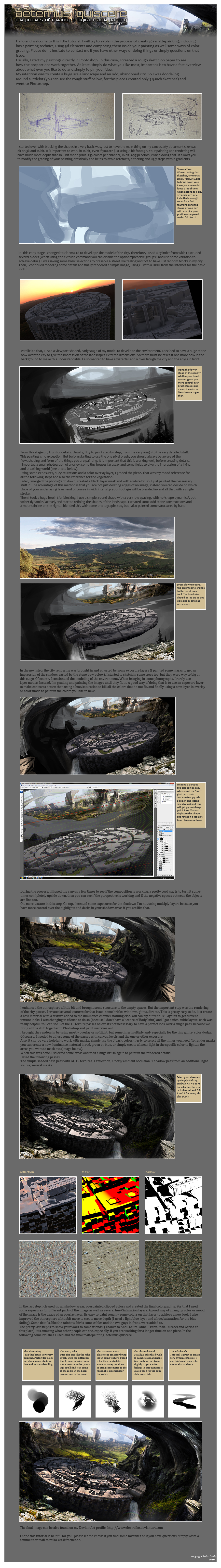 matte painting tutorial by Der-Reiko