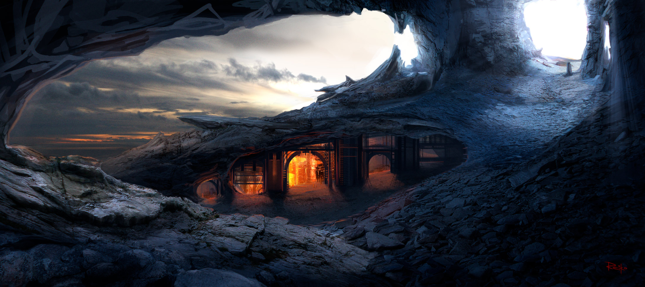 hidden caves by Der-Reiko