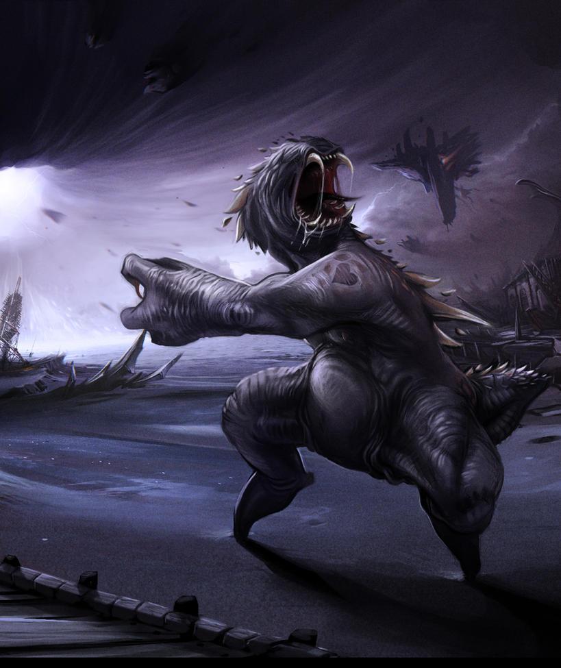 Nameless Terror by Der-Reiko