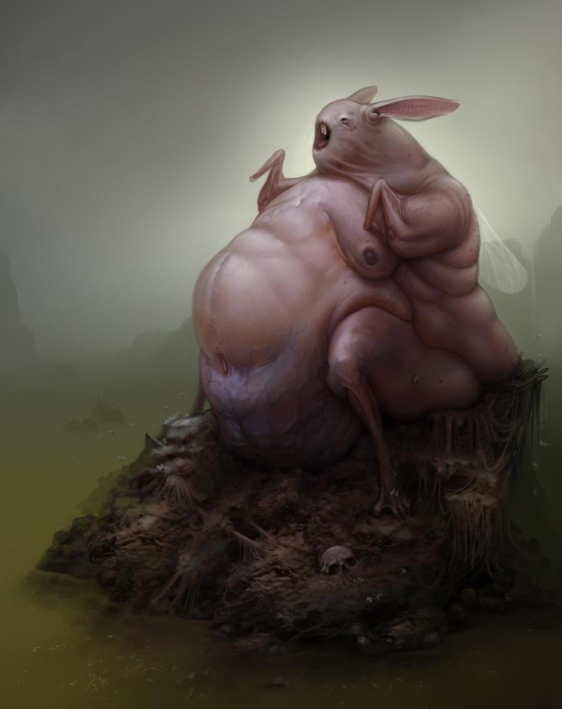 The Gluttobunny by Der-Reiko