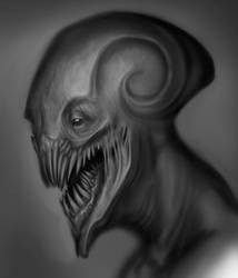 alien head by Der-Reiko