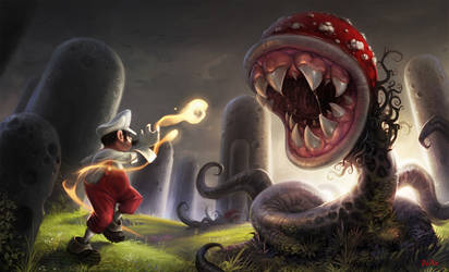 Super Mario Fanart :) by Der-Reiko