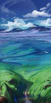 Azure fields by Der-Reiko