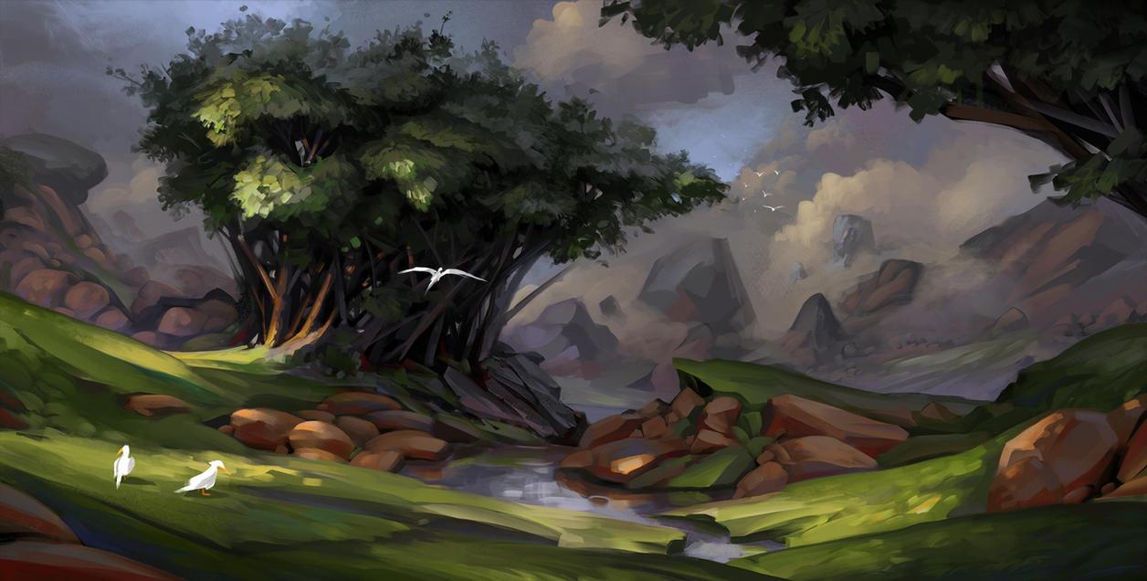 Something green by Der-Reiko