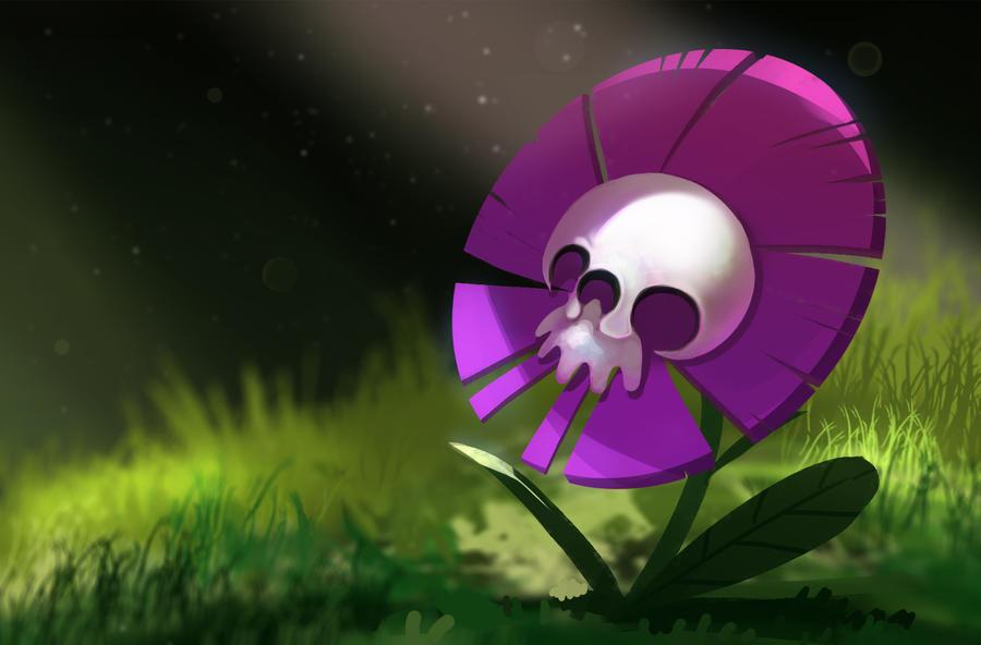 Deadly flower by der reiko on deviantart
