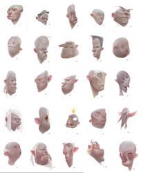 Faces-compilation by Der-Reiko
