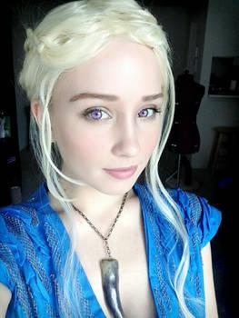 Daenerys Targaryen Cosplay Makeup