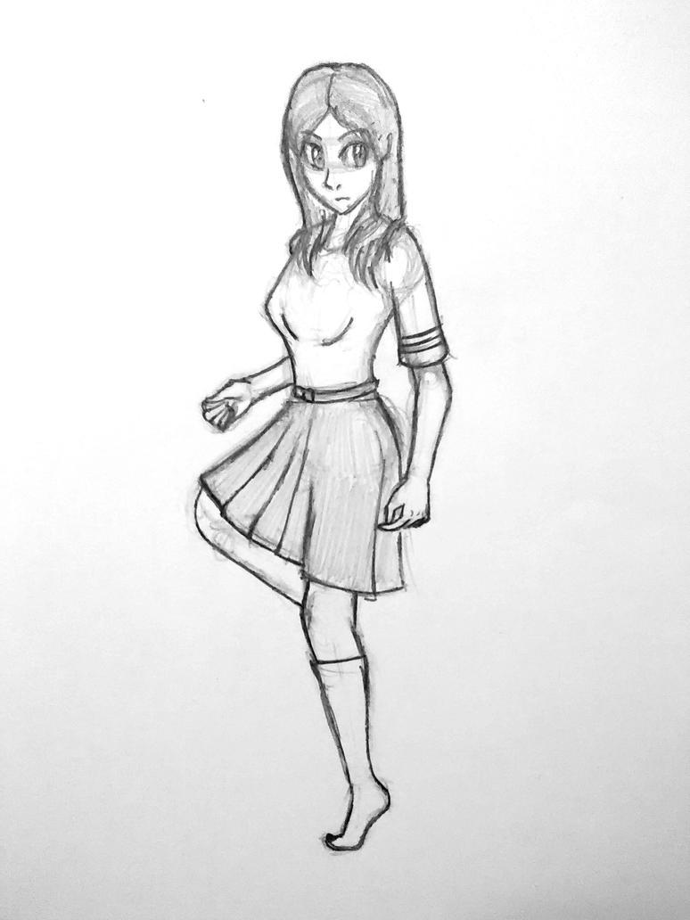 Girl in a Dress by Redahfuhrerking