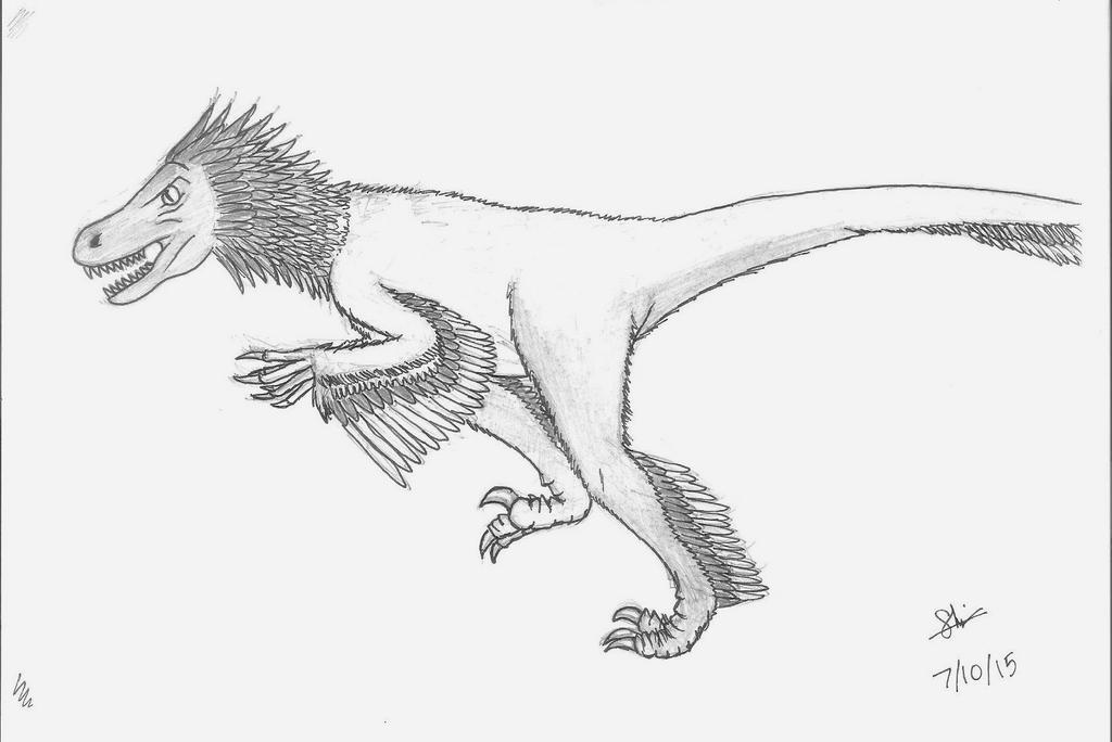 A Raptor by Redahfuhrerking