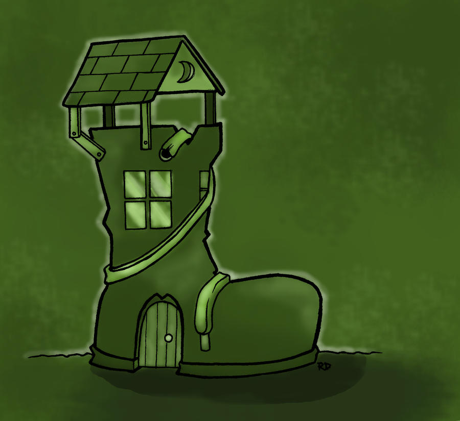 The Shoe House by UnusualHero