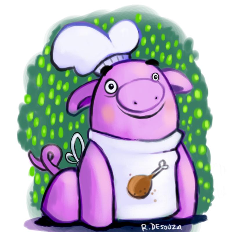 Pig by UnusualHero