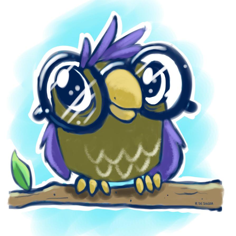 Owl by UnusualHero