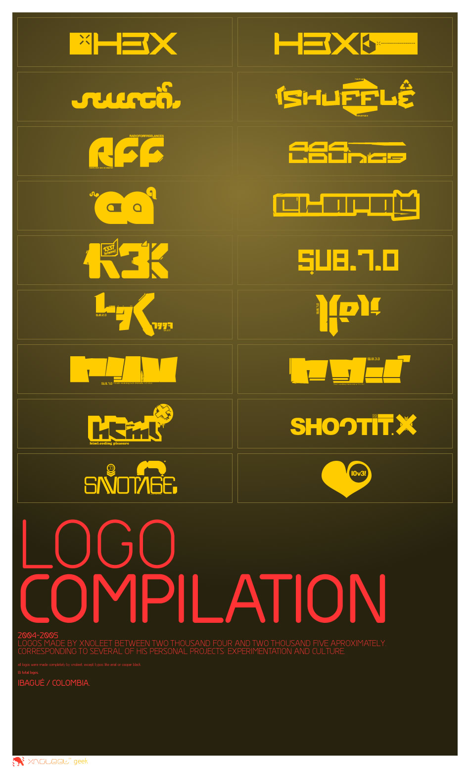 Logo Compilation by xnoleet
