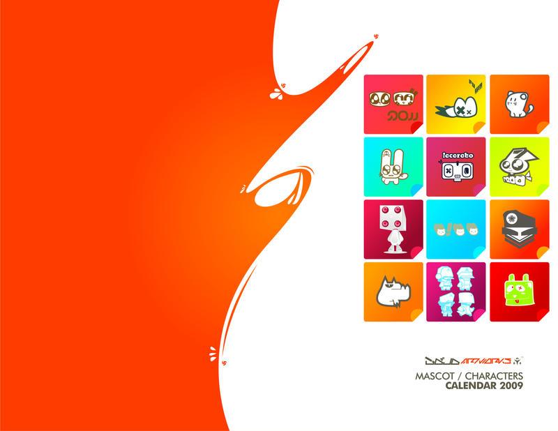 DojoArtworks Calendar2009 by xnoleet