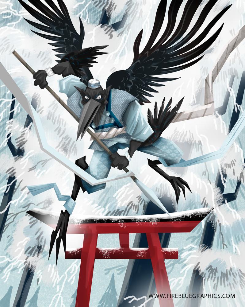 Karasu Tengu by Firebluegraphics