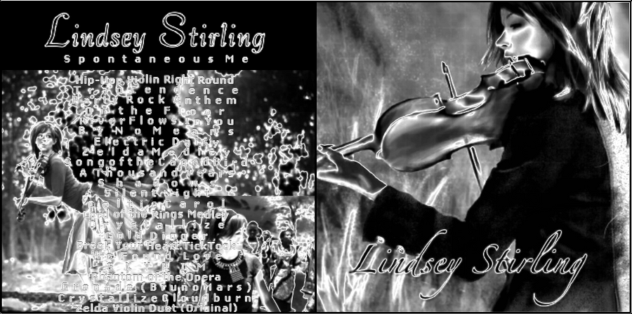 Lindsey Stirling CD Album Covers8 -ViolinRockStar by ...