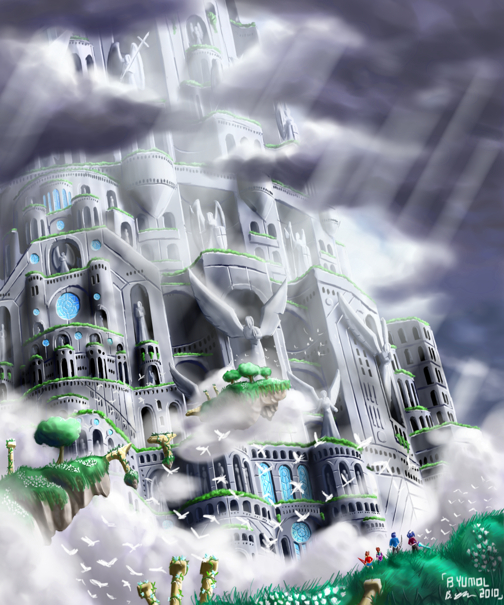 The Tower of Souls II by JIHAUS