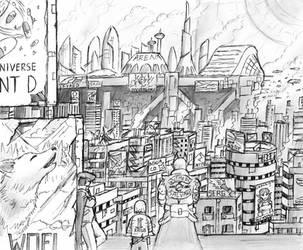 Ruin Frontier Concept 02 by JIHAUS
