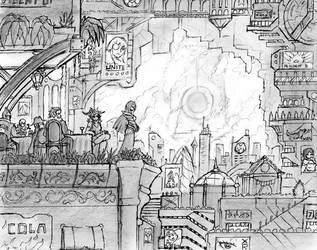 Ruin Frontier Concept 03 by JIHAUS
