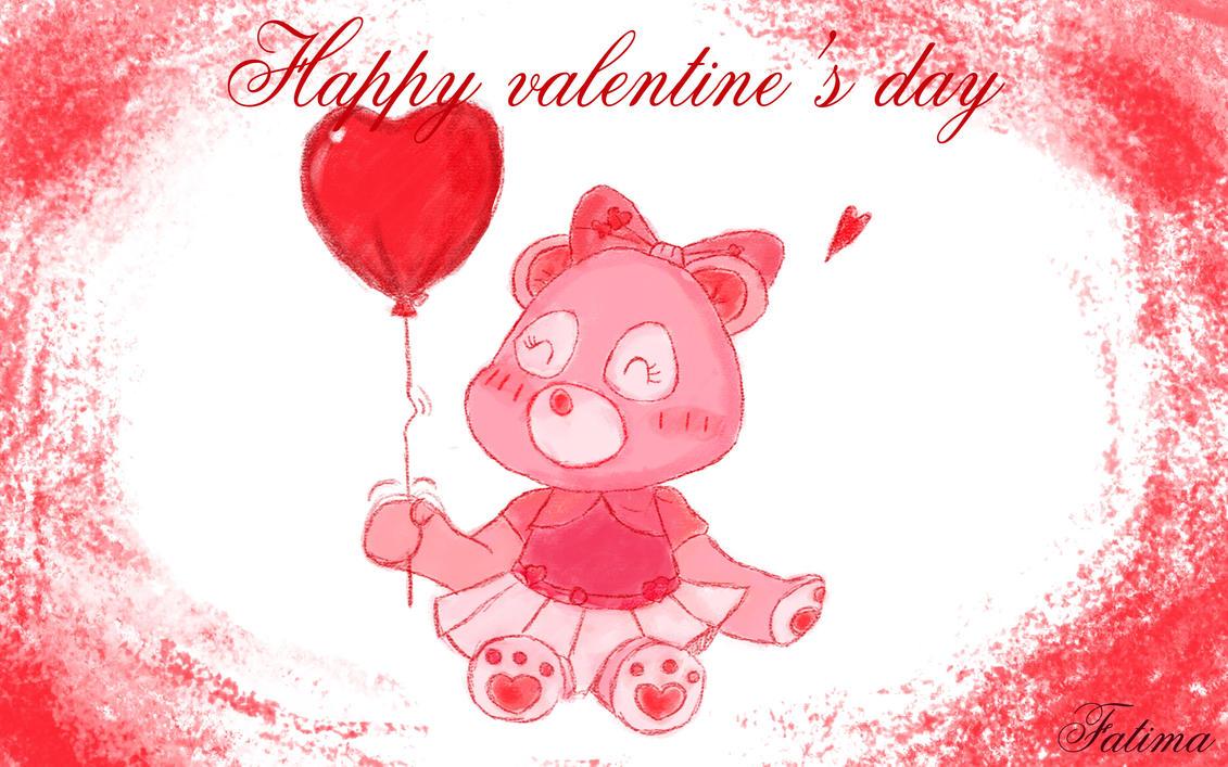 Happy Valentine's day! by FatimaSketch