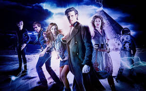 Doctor Who S6 Wallpaper by Casteal