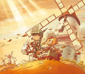 Don Quixote coverBook by scoppetta