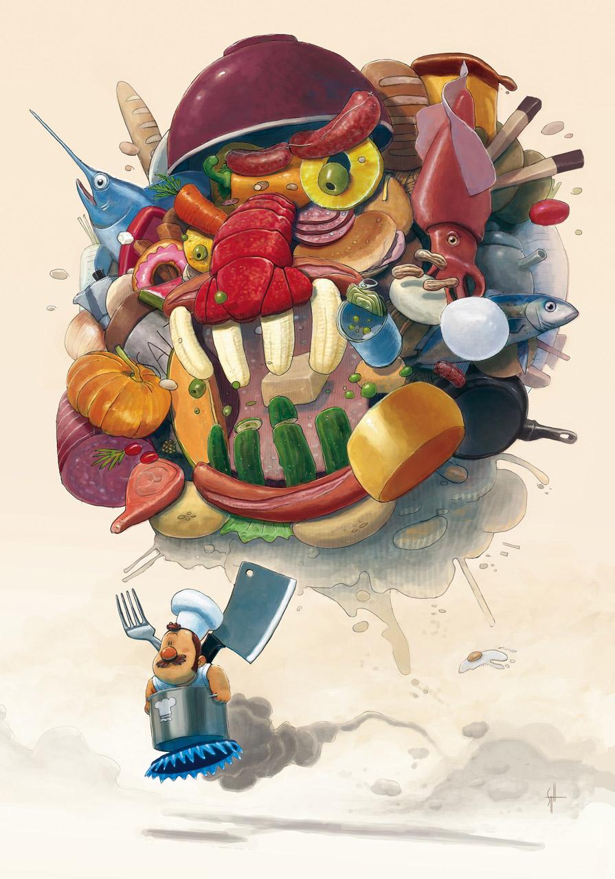 Foodmonster by scoppetta