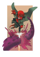 Hellboy dailysketch by scoppetta