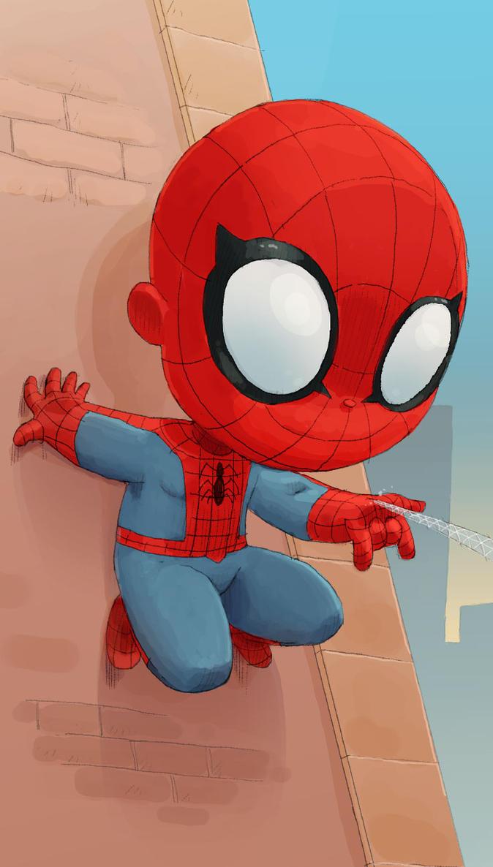 SpiderIphone02 by scoppetta