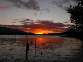 Flooded Sunset by morkrul