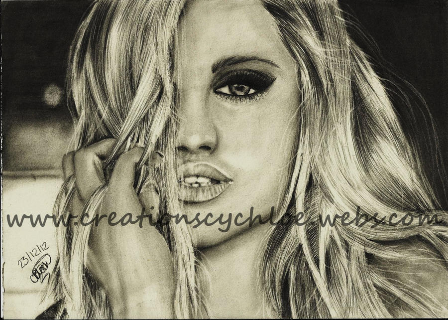Ashley Roberts by ItsCloctorArt