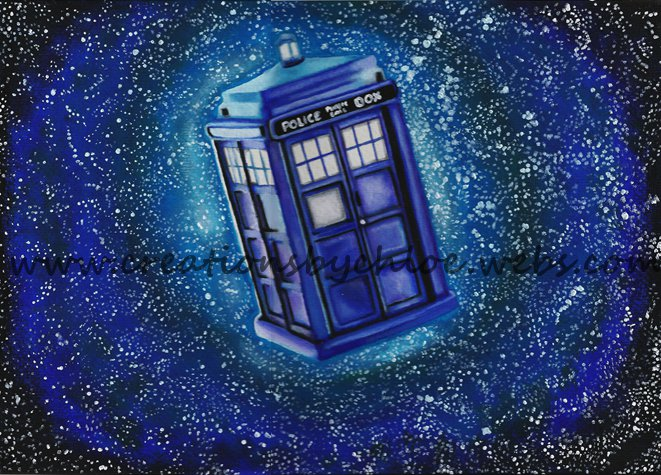 Doctor Who Painting Artist