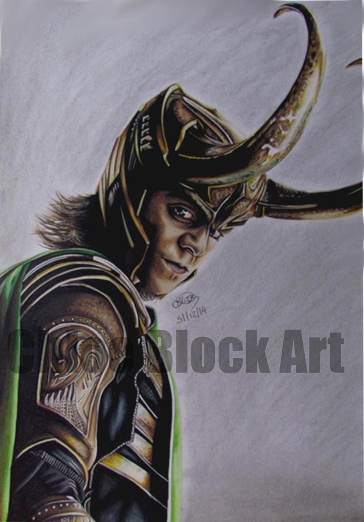 Loki by ItsCloctorArt