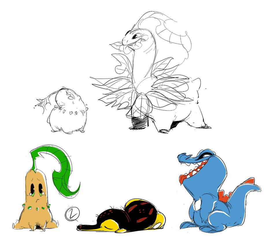 Pokemon gen 2 by khalamithy