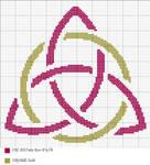 Triquatra Cross Stitch