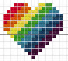 Rainbow Heart by alcnaurewen