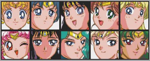 Sailor Moon Avatar Stitch by alcnaurewen