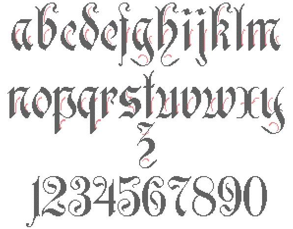 Lowercase Alphabet By Alcnaurewen