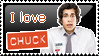Stamp: I love Chuck by Abwettar