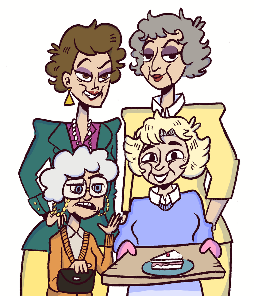 The Golden Girls by mabiesison