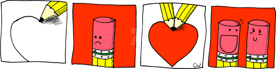 MBF Valentines Colored by fishtalkcomics
