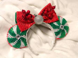 Christmas Peppermint Ears by EnchantedTiara