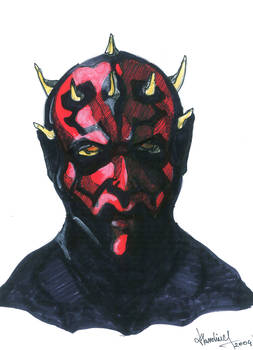 Darth Maul - Star Wars by carlibux