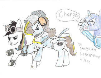 31. charge into battle without a plan by eleboy