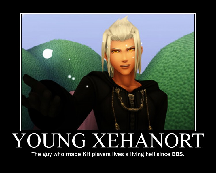 Young Xehanort Demotivational Poster by KunivasXV on ...