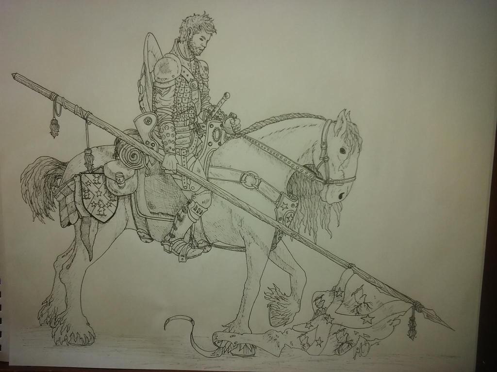 A Disconsolate Knight by JaDeDcLoWn